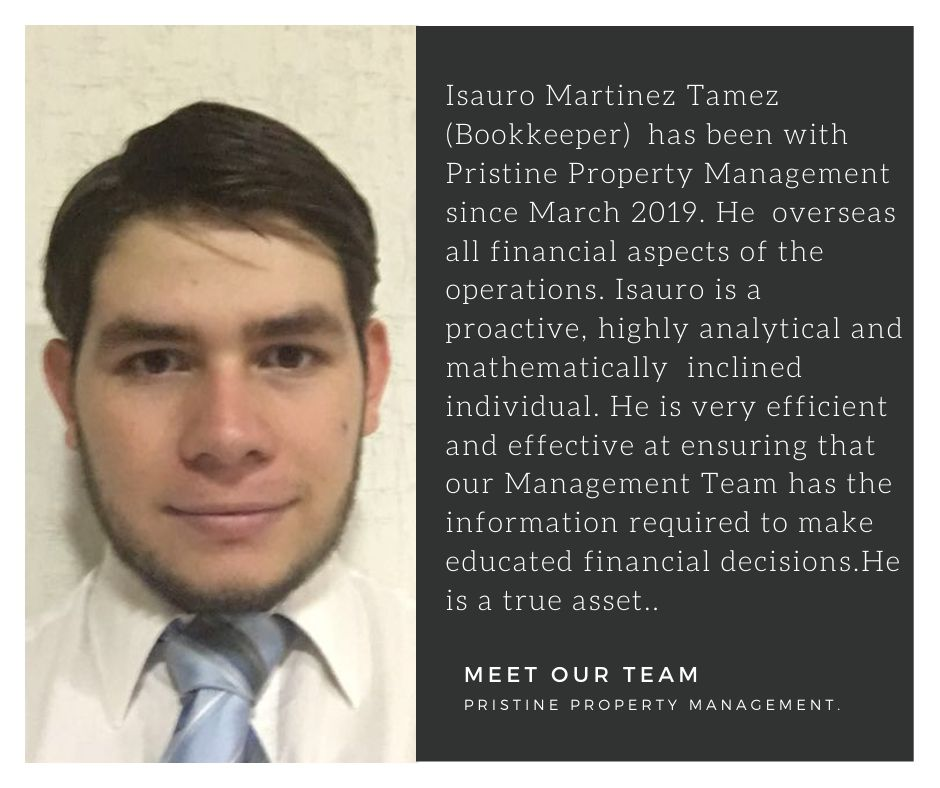 Meet Our Team: Isauro Martinez Tamez