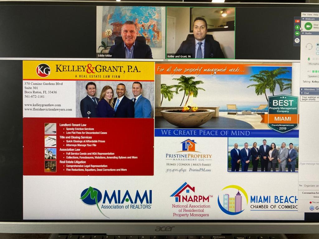 MAR/MIAMI BEACH CHAMBER OF COMMERCE EVICTION MORATORIUM WEBINAR